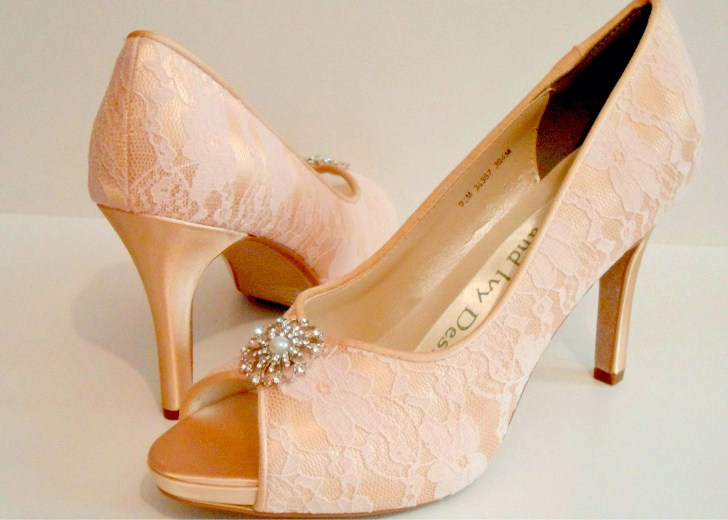 Peach Wedding Shoes 001 - Peach Wedding Shoes