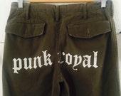 Punk Royal military pants