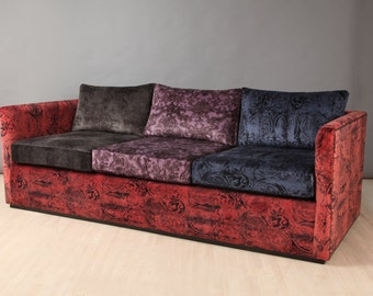 SPRING SALE 20% Off: Velvet Sofa - II
