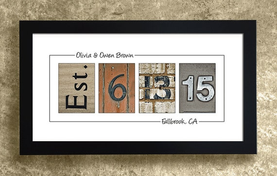 Personalized Wedding Gifts For Couples: PERSONALIZED WEDDING GIFT For Couples