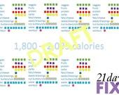 21day FIX Tally  Sheet 1800 2099