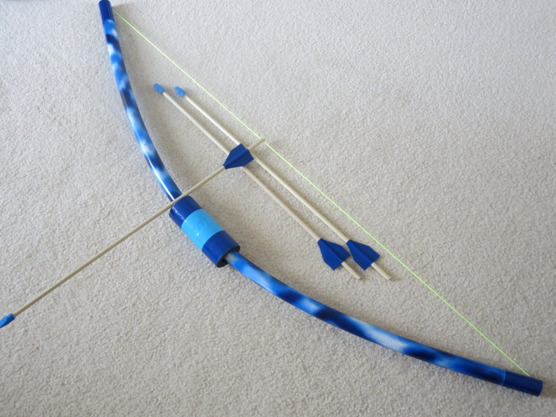 Blue bow and arrow related keywords blue bow and arrow for Kids pvc bow