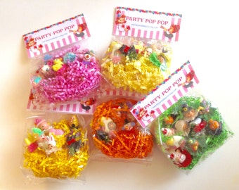 Listing for One Dozen Goody Cupcake Topper Bag