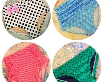 Custom Bikini Bottom - Pick Your Size, Style and Fabric!
