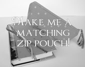 Make Me A Matching Pencil Pouch - Set - Zip Pouch - Cosmetic Pouch - Bible Journaling