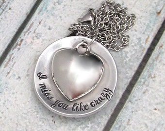Personalized Jewelry - Cremation Urn Necklace - Hand Stamped Memorial - Personalized Necklace - Cremation Jewelry- Remembrance Necklace