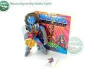 MOTU Action Figure: Stonedar Complete 1980s Toy