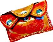 Mini Wallet - Credit Card Holder - Credit Card Wallet - Minimalist Wallet - Coin Wallet - Card Holder Wallet - monogram - leather wallet
