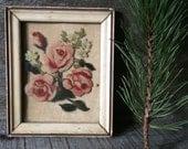 Antique Rose Painting - Original