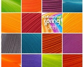 "Spring 15 Color Packs of Culture Pop Quilling Paper Strips.  15 individual packs in 1mm, 1/8"", 1/4"" or 1/2"" widths."