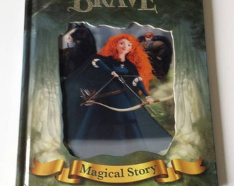 Brave Hologram Notebook handmade from a Disney book