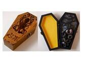 Cthulhu Coffin HP Lovecraft medium PROP Box