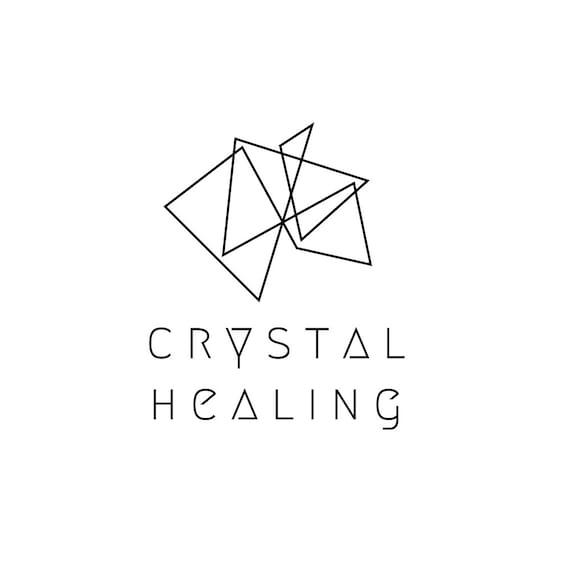 Customisable Logo Design, Geometric, Crystal Healing, Simple ...