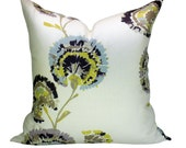 Romo Carmen pillow cover in Hay