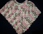 Child's Poncho - Crochet CLEARANCE SALE