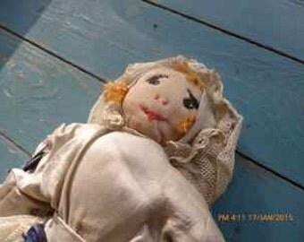 antique wrag doll