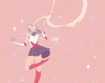 Sailor Moon (Print)