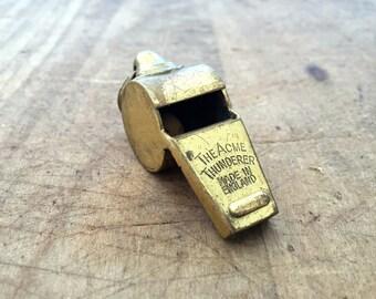 Vintage whistle Acme Thunderer