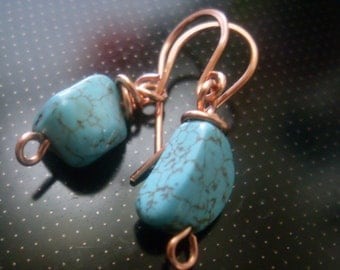PAY IT FORWARD  Turquoise Earrings