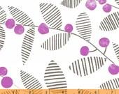 Follie - Skullan - Leaf Berry - Cotton Print Fabric by Lotta Jansdotter from Windham Fabrics