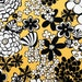 Satchi - Yellow Floral from Alexander Henry