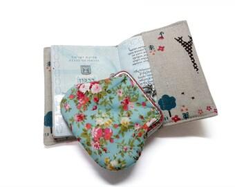 Passport Cover - Passport Holder - Cover designed for a passport - Linen fabric