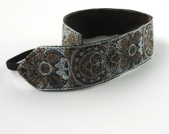 Headband bird jacquard head band  trim women hair accessory no slip