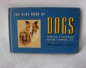 The Blue Book of Dogs Spaniels Retrievers Setters Pointers Ect. 1939 by Robert Briggs Logan