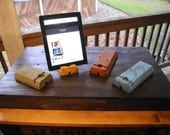 Reclaimed Wood Tablet and Smartphone Stand