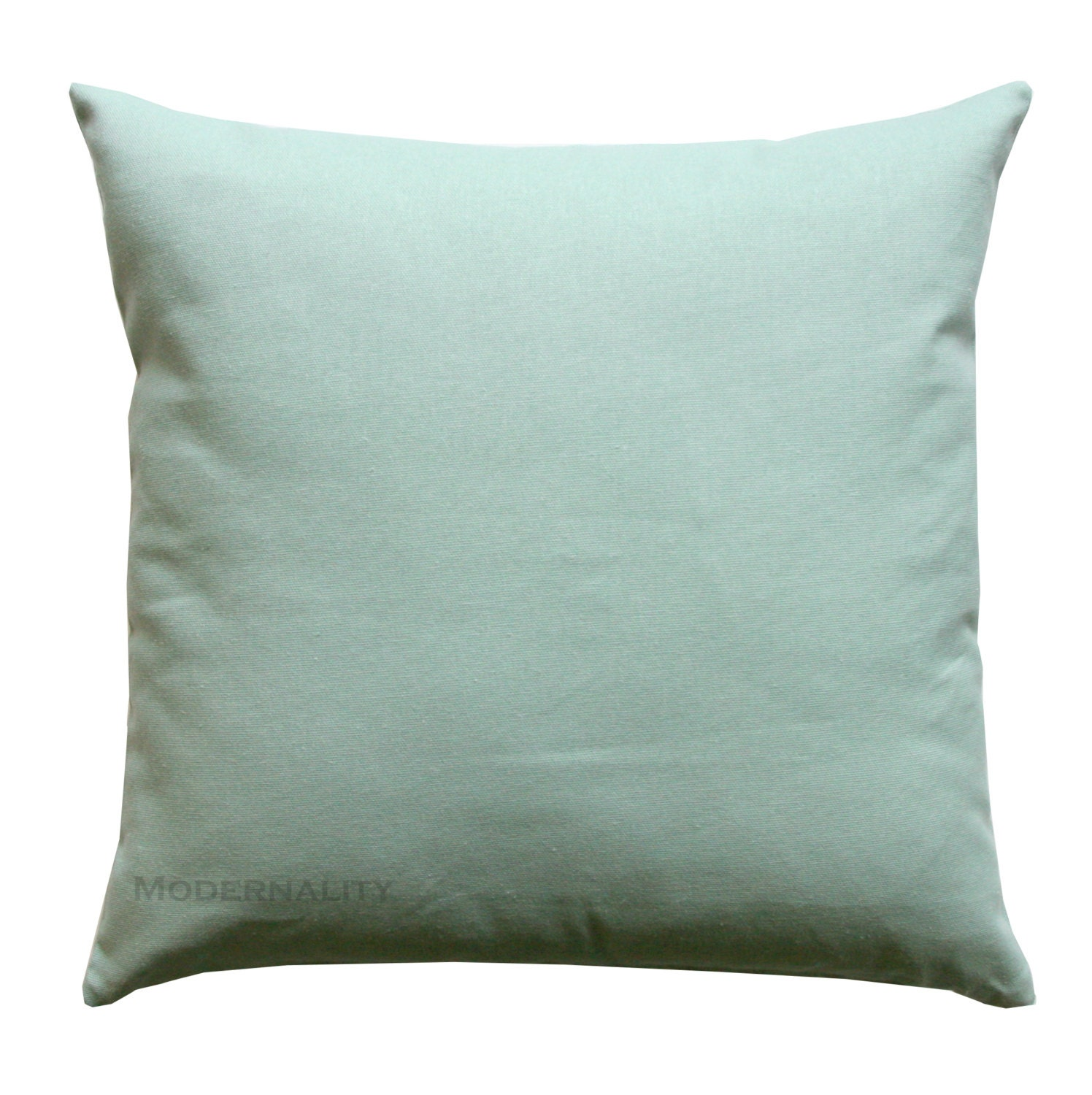 Solid Blue Throw Pillow : Solid Throw Pillows Village Blue Dyed Solid Pillow Cover