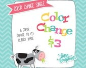 Custom Color Change for 1 Clipart Image, Digital Clipart Custom Color Change, Recolor Clipart, Clipart Single