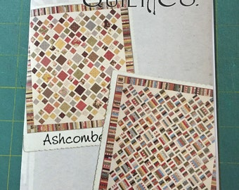 Ashcombe quilt pattern from Miss Rosie's quilt Co.