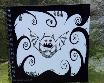 Boris the Bat Notebook, Sketchbook
