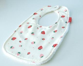 Strawberries Bib - Toddler