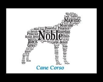 Cane Corso,Cane Corso Art, Cane Corso Artwork, Cane Corso Print, Custom Cane Corso, Cane Corso  Gift