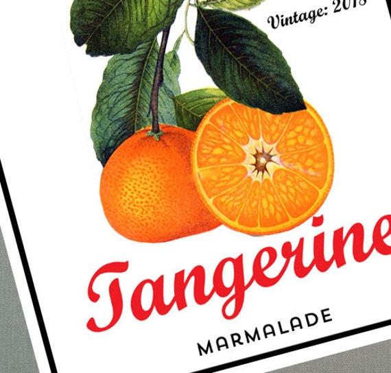 how to make tangerine marmalade