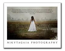 Love Never Dies Horror Dark Art Still Print - NikytaGaia Photography