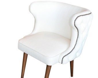 Brentwood transitional upholstered dining chair