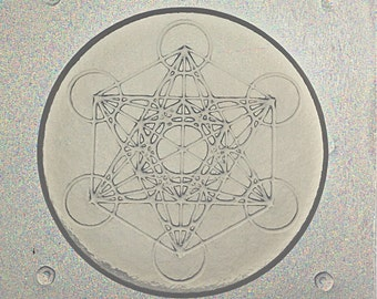 Flexible Resin Mold Sacred Geometry Metatron's Cube
