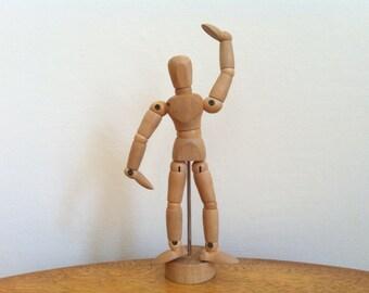 Wooden Anatomical Model - Artist Model - Display Manniquin - Art Statue