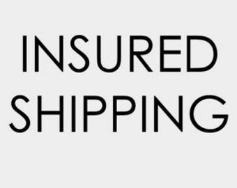 Insured Shipping - Insure your package - Theft, damage, loss.