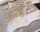 Handmade Ladies Shoulder Bag 1910 Crochet