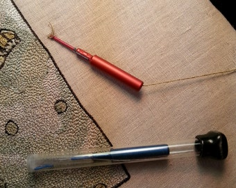 Punch Needle or needle punch Three strand CTR Needle RED (NM15-06)