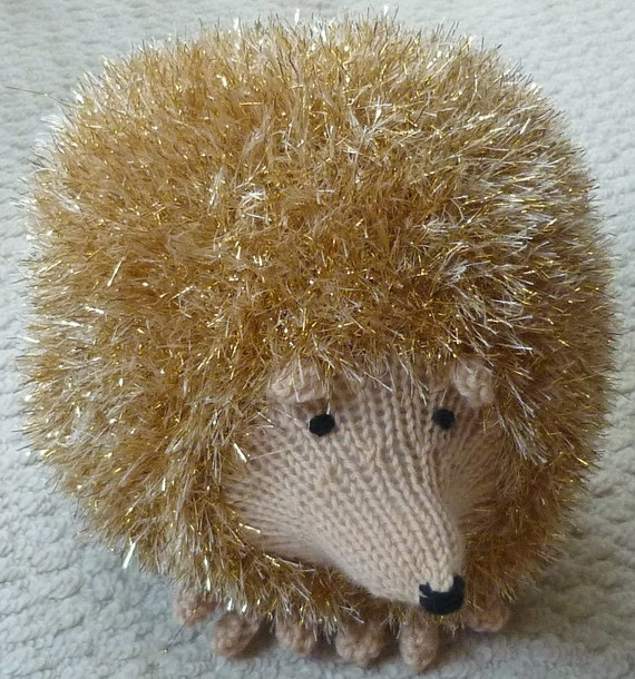 Knitted Toy Pattern K9015 Small, Medium & Large Hedgehog ...