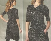 Uncut Vogue 1252 Tracy Reese New York American Designer Dress Size 14 16 18 20 22 Bust 36 38 40 42 44