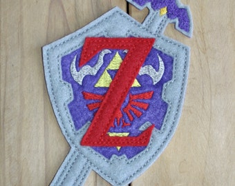 Zelda Shield Patch
