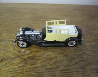 Bugatti Royale Model Car. Made in Italy.
