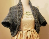 CUSTOM Waterfall Knit Shrug for patrice542002