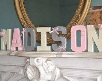 Custom Designed Letters