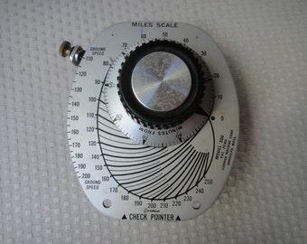 Vintage Gorman Check Pointer Automatic ETA Model 200 Airplane Pilot Instructions
